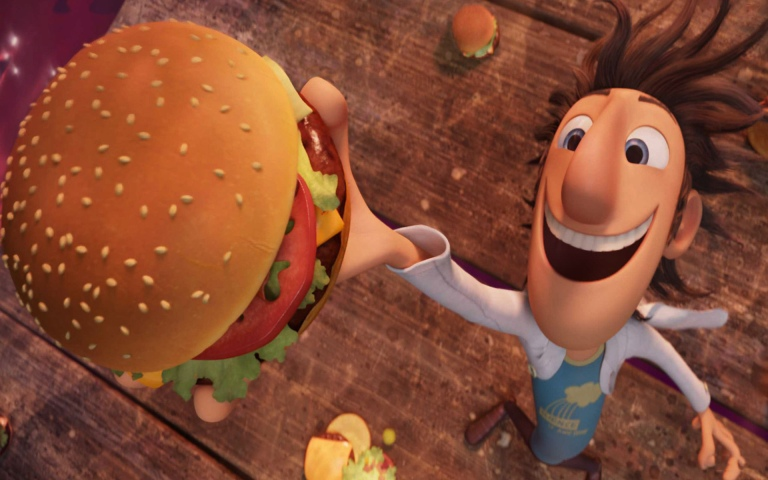 Cloudy-With-a-Chance-of-Meatballs-1-Catches-Burger-In-Rain-Wallpapers